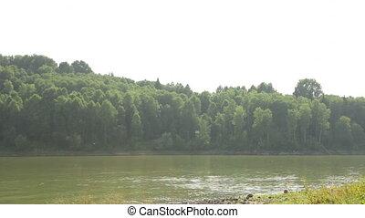 River in Siberia Pan