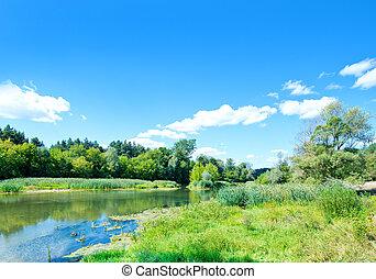 River in Ukraine