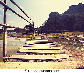 River in Vietnam - river in Vietnam