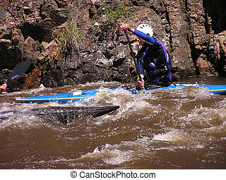 River Kayaker 1
