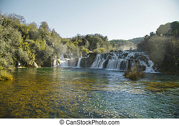 River Krka waterfalls