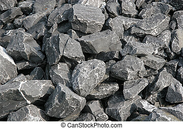 River Rocks - Grey rocks from a river useful for backgrounds