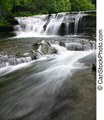 River Rush - River flow in a local state park in Ithaca.