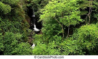 River Saja waterfall