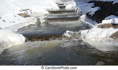 river stair water winter