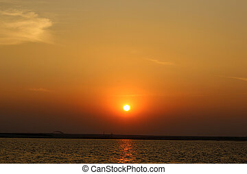 River Sunset Pictures-2