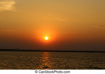 River Sunset Pictures-3