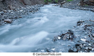 River timelapse 4k