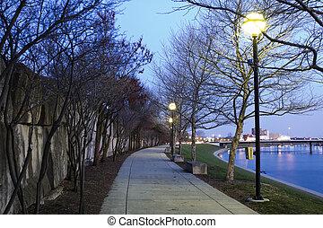 River Walk in Indianapolis