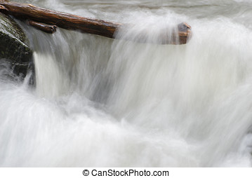 River water moving