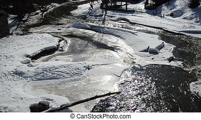 river water winter flow