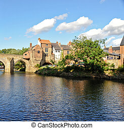 River Wear in Durham England
