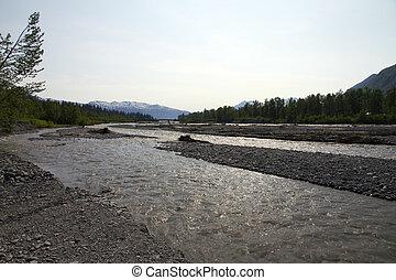 riverbanks in valdez