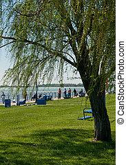 riverfront, parc