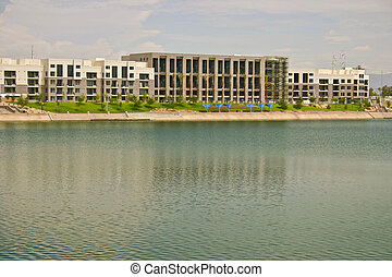 Condos on a Lake