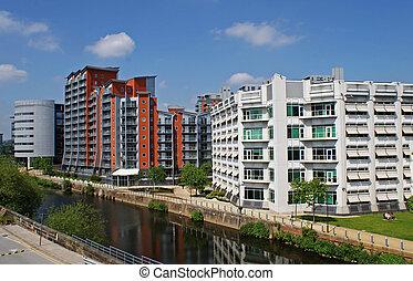 riverside, apartamentos
