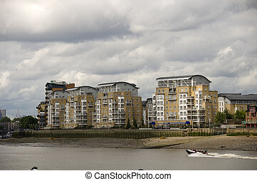 Riverside appartments - A view of some river side apartments...