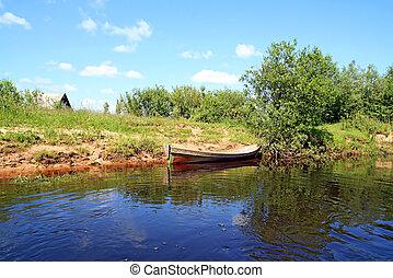 riverside boat