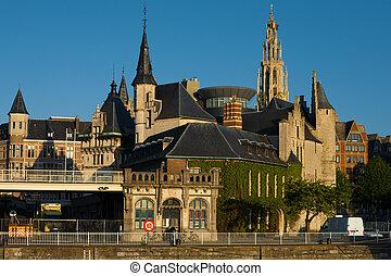 Riverside Het Steen Church of Our Lady Antwerp - A unique ...