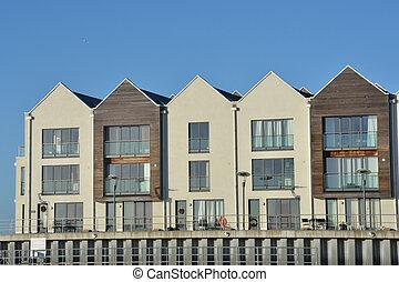 riverside, modernos, apartamentos