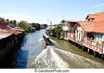 Riverside residential in Thailand