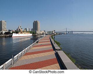 riverwalk, filadelfia