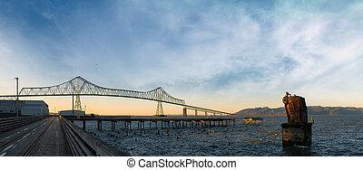riverwalk, ponte, megler, astoria, panorama