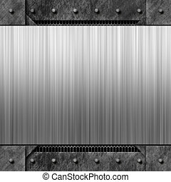 Riveted Metal Layout