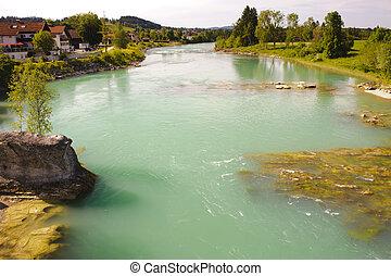 rivière, bavière