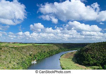 rivière, chavon