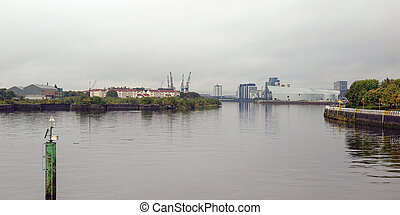 rivière clyde, glasgow