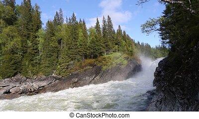 rivière, norvège