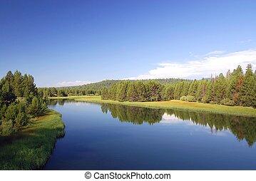 rivière, orégon