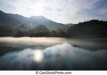 rivière, paysages