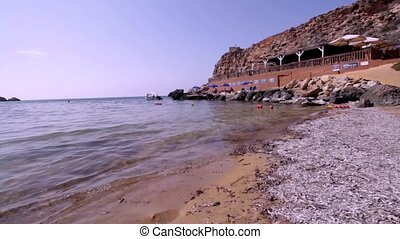 Riviera beach Malta Ghajn Tuffieha Beach