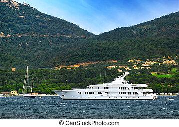 riviera, jacht, luxe, franse , kust