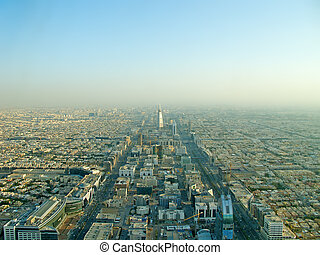 Riyadh city from the top