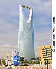 Kingdom tower - RIYADH - DECEMBER 22: Kingdom tower on...