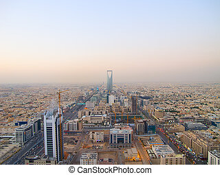 Kingdom tower - RIYADH - DECEMBER 22: Kingdom tower on...
