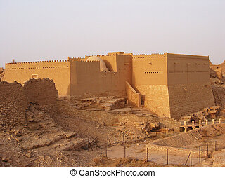 riyadh, diriyah, サウジアラビア人, 粘土, アラビア, 要塞, アー