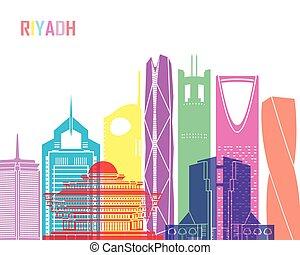Riyadh V2 skyline pop