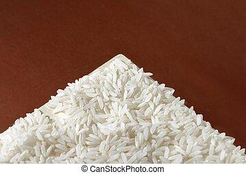 riz blanc, fond