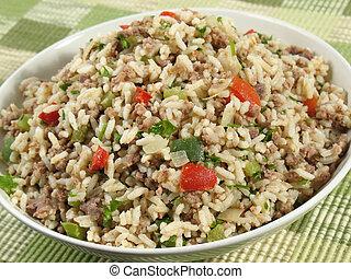 riz, bol, sale