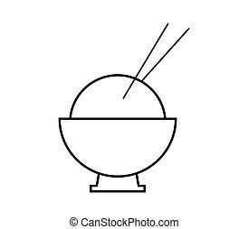 riz, icône