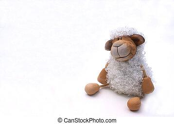 rizado, sheep.