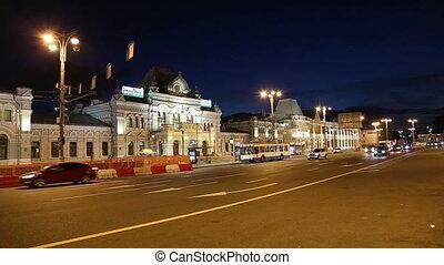 Rizhsky railway station in Moscow - Rizhsky railway station...