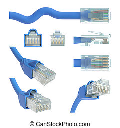 RJ45 Views and Angles