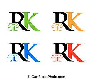 rk, 法律, 頭文字