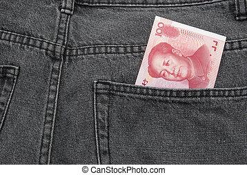 RMB pocket money