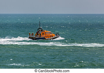 RNLI lifeboat Diamond Jubilee at Eastbourne